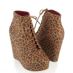 Statement Leopard Booties